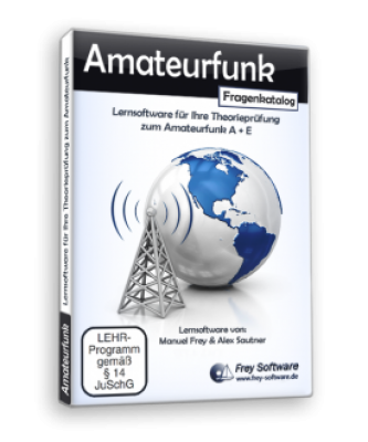 Lernsoftware: Amateurfunk (Klasse A + E)