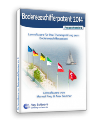 Lernsoftware: Bodenseeschifferpatent (mit Audio)